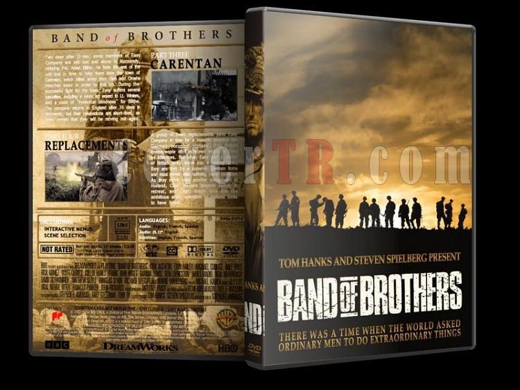 Band of Brothers (Kardeşler Takımı) Collection - Custom Dvd Cover Set [2001]-band-o-brothers-2jpg
