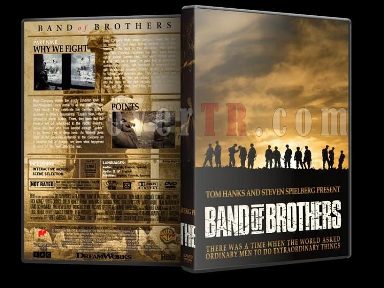 Band of Brothers (Kardeşler Takımı) Collection - Custom Dvd Cover Set [2001]-band-o-brothers-5jpg