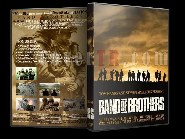 Band of Brothers (Kardeşler Takımı) Collection - Custom Dvd Cover Set [2001]-band-o-brothers-6jpg