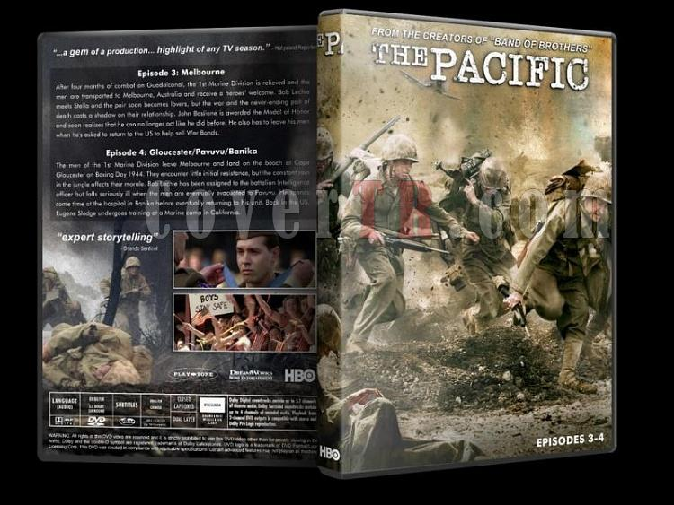 The Pacific - Custom Dvd Cover Set - English [2010]-pacific-2-dvd-cover-wwwcovertrcomjpg