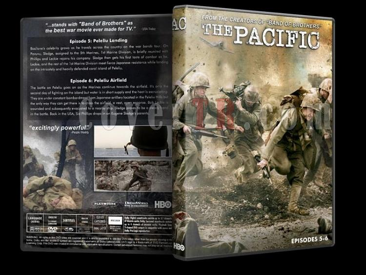 The Pacific - Custom Dvd Cover Set - English [2010]-pacific-3-dvd-cover-wwwcovertrcomjpg