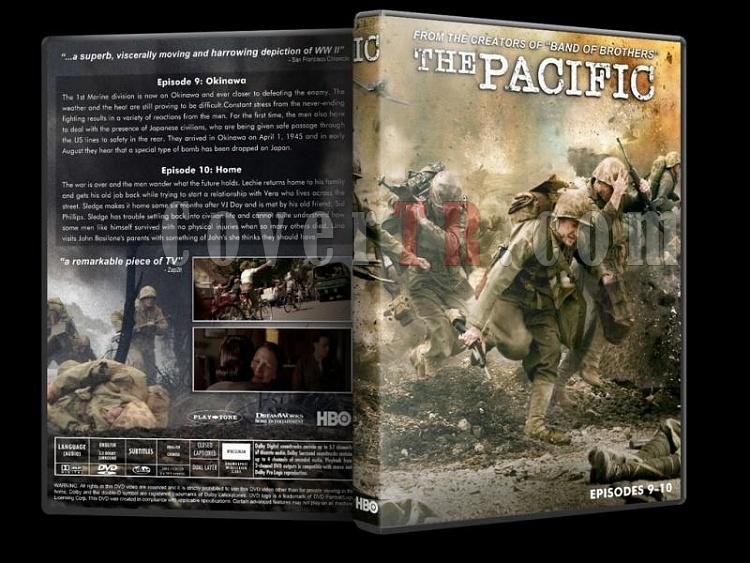 The Pacific - Custom Dvd Cover Set - English [2010]-pacific-5-dvd-cover-wwwcovertrcomjpg
