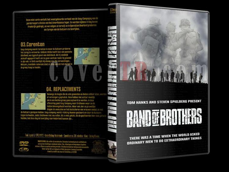 Band Of Brothers (Kardeşler Takımı) - Dvd Cover Set - English [2001]-b2jpg