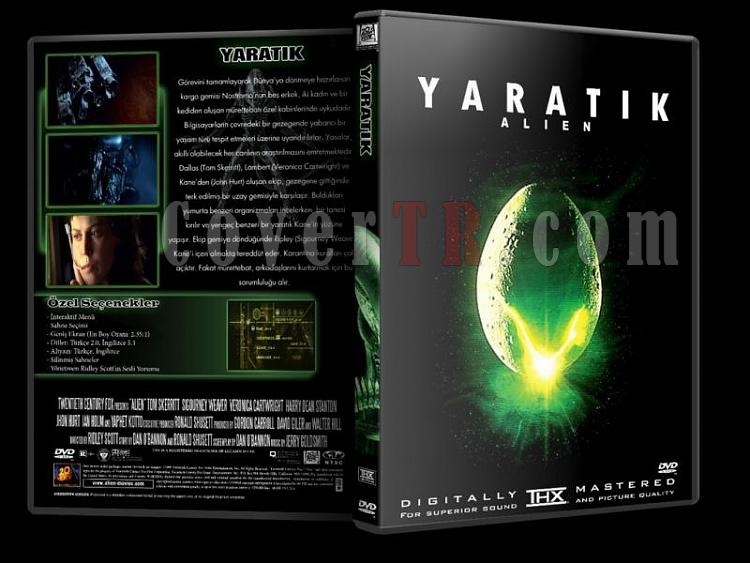 Alien (Yaratık) Collection - Custom Dvd Cover Set - Türkçe [1979-1997]-y1jpg