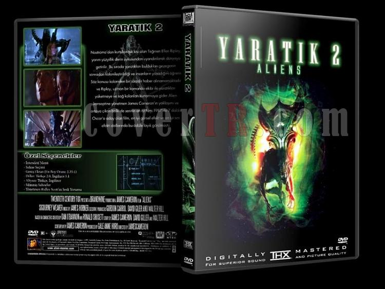 Alien (Yaratık) Collection - Custom Dvd Cover Set - Türkçe [1979-1997]-y2jpg