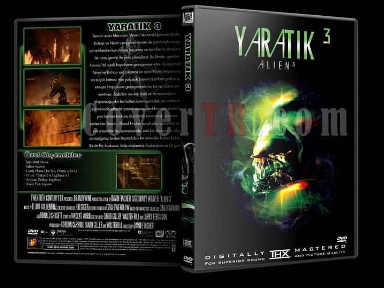 Alien (Yaratık) Collection - Custom Dvd Cover Set - Türkçe [1979-1997]-y3jpg