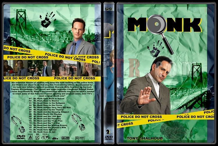 Monk (Seasons 1-8) - Custom Dvd Cover Set - English [2002-2009]-monk-season-2jpg
