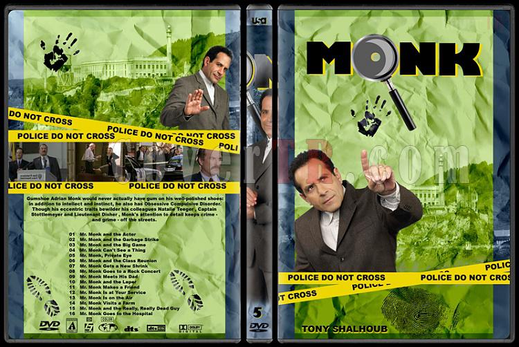 Monk (Seasons 1-8) - Custom Dvd Cover Set - English [2002-2009]-monk-season-5jpg