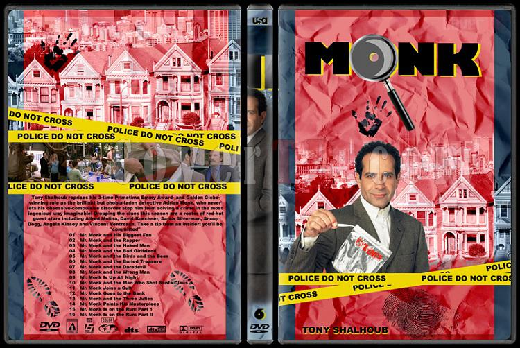 Monk (Seasons 1-8) - Custom Dvd Cover Set - English [2002-2009]-monk-season-6jpg