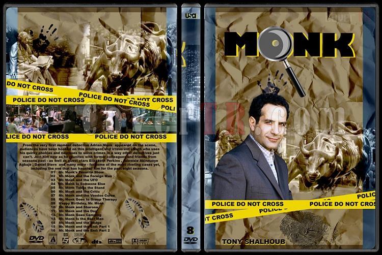 Monk (Seasons 1-8) - Custom Dvd Cover Set - English [2002-2009]-monk-season-8jpg