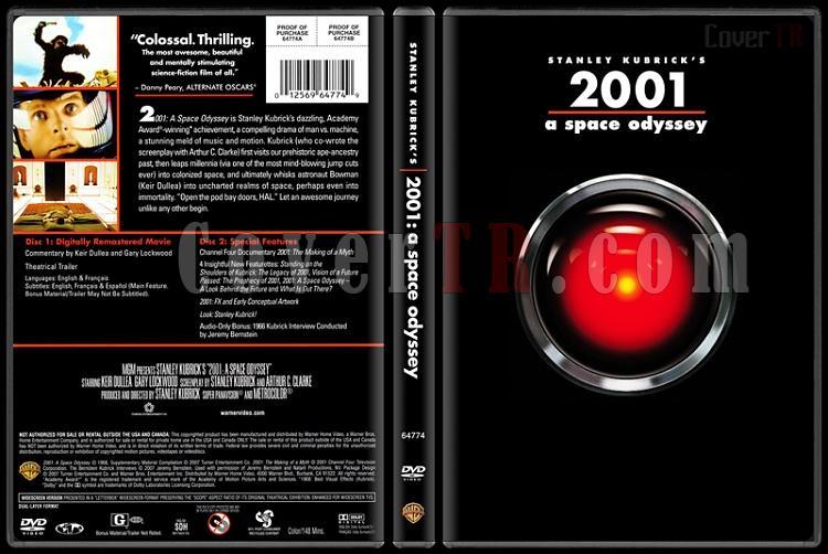 Stanley Kubrick Collection - Custom Dvd Cover Set - English [1968-1999]-1-2001jpg