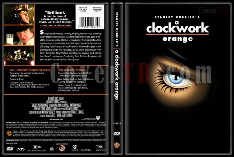 Stanley Kubrick Collection - Custom Dvd Cover Set - English [1968-1999]-2-clarkworkjpg