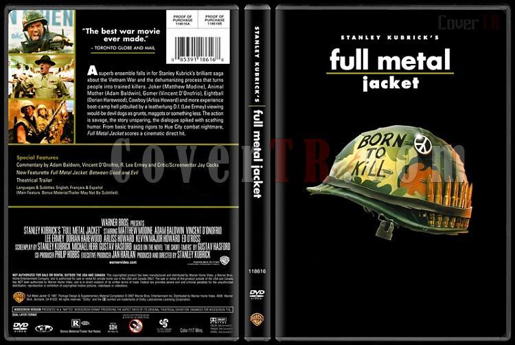 Stanley Kubrick Collection - Custom Dvd Cover Set - English [1968-1999]-4-full-methaljpg