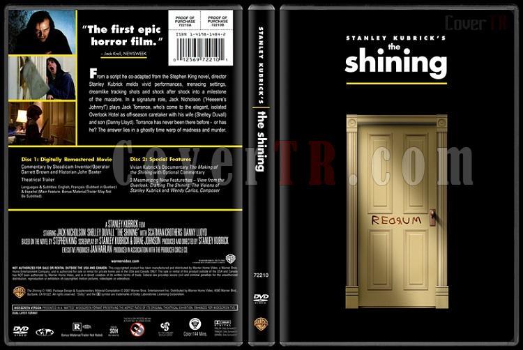 Stanley Kubrick Collection - Custom Dvd Cover Set - English [1968-1999]-5-shinningjpg