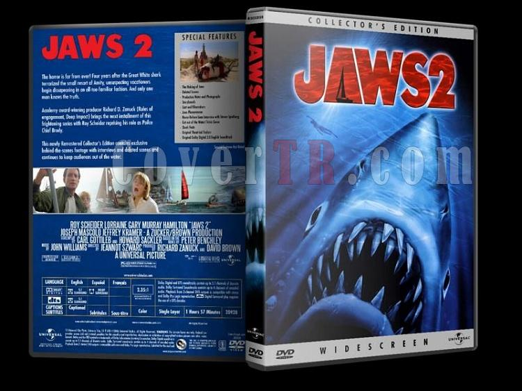 Jaws Collection - Custom Dvd Cover Set - English-jaws_2jpg
