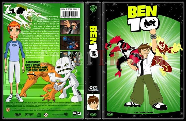 TV Cartoon Collection - Custom Dvd Cover Set - English-ben-10-dvd-coverjpg