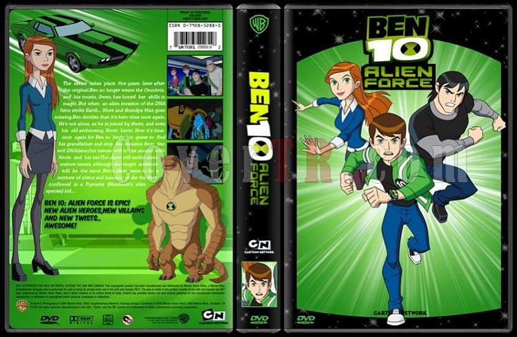 TV Cartoon Collection - Custom Dvd Cover Set - English-ben-10-alien-force-dvd-coverjpg
