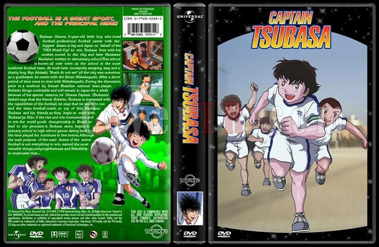 TV Cartoon Collection - Custom Dvd Cover Set - English-captain-tsubasa-dvd-coverjpg