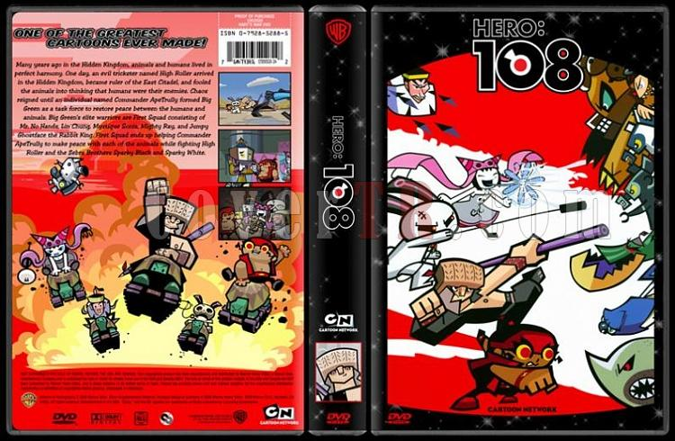 TV Cartoon Collection - Custom Dvd Cover Set - English-hero-108-dvd-coverjpg