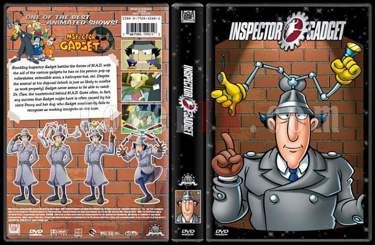 TV Cartoon Collection - Custom Dvd Cover Set - English-inspector-gadget-dvd-coverjpg