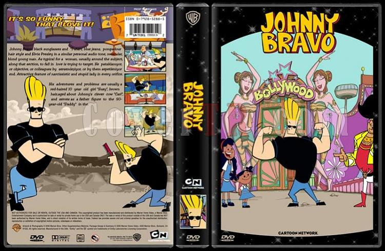 TV Cartoon Collection - Custom Dvd Cover Set - English-johnny-bravo-dvd-coverjpg