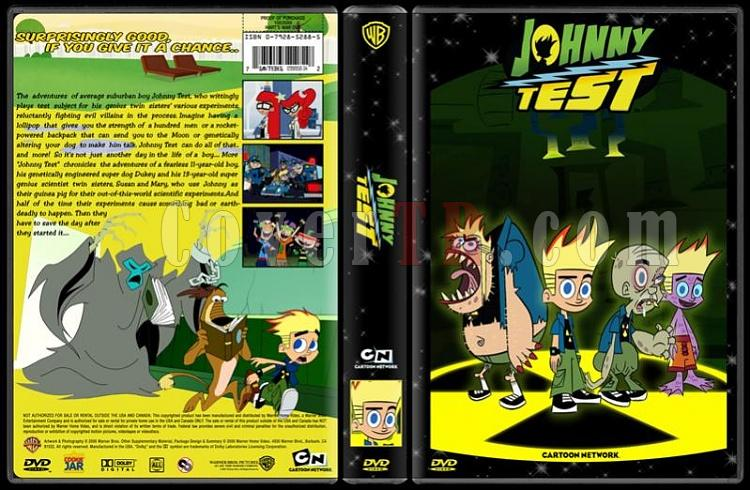 TV Cartoon Collection - Custom Dvd Cover Set - English-johnny-test-dvd-coverjpg