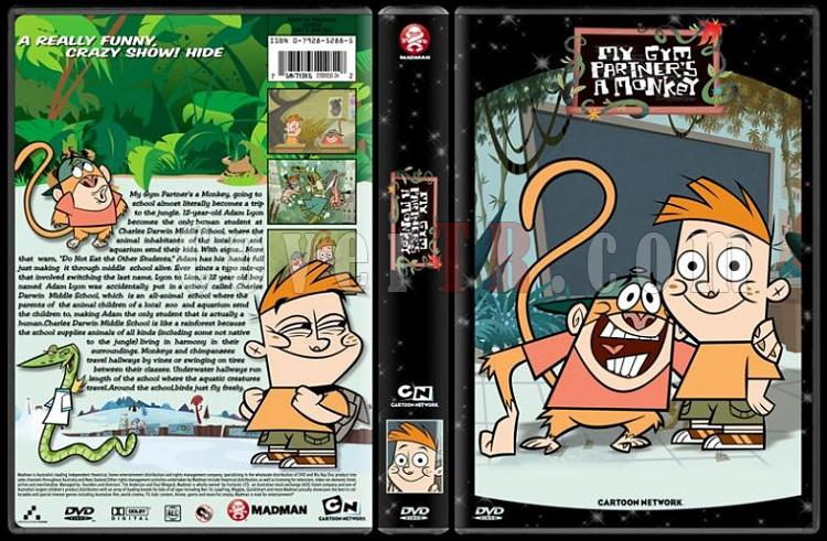 TV Cartoon Collection - Custom Dvd Cover Set - English-my-gym-partners-monkey-dvd-coverjpg