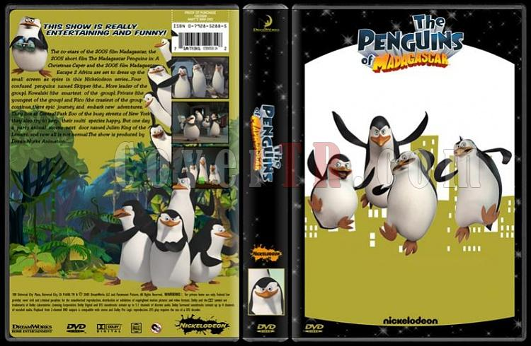 TV Cartoon Collection - Custom Dvd Cover Set - English-penguins-madagascar-dvd-coverjpg