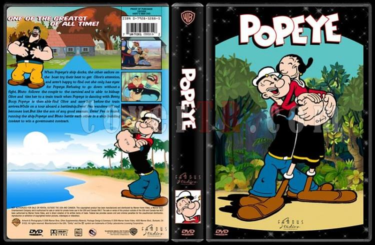 TV Cartoon Collection - Custom Dvd Cover Set - English-popeye-dvd-coverjpg