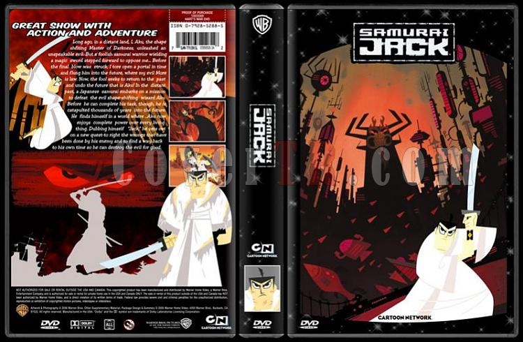 TV Cartoon Collection - Custom Dvd Cover Set - English-samurai-jack-dvd-coverjpg