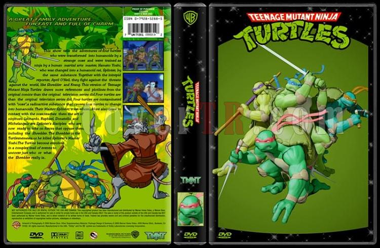 TV Cartoon Collection - Custom Dvd Cover Set - English-teenage-mutant-ninja-turtles-dvd-coverjpg