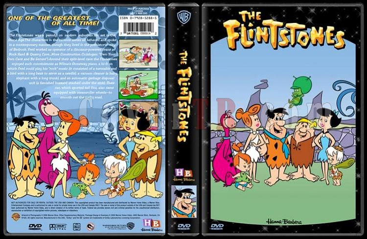TV Cartoon Collection - Custom Dvd Cover Set - English-flintstones-dvd-coverjpg