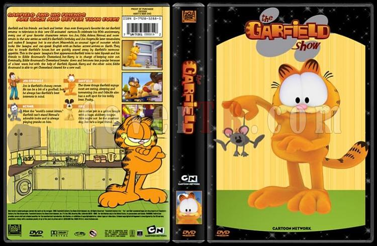 TV Cartoon Collection - Custom Dvd Cover Set - English-garfield-dvd-coverjpg