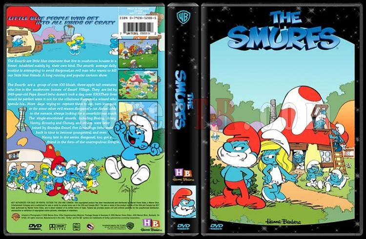 TV Cartoon Collection - Custom Dvd Cover Set - English-smurfs-dvd-coverjpg