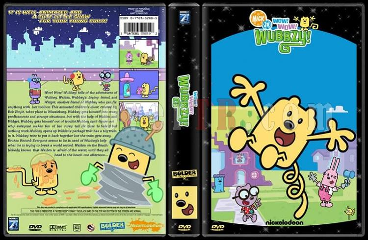 TV Cartoon Collection - Custom Dvd Cover Set - English-wow-wow-wubzy-dvd-coverjpg