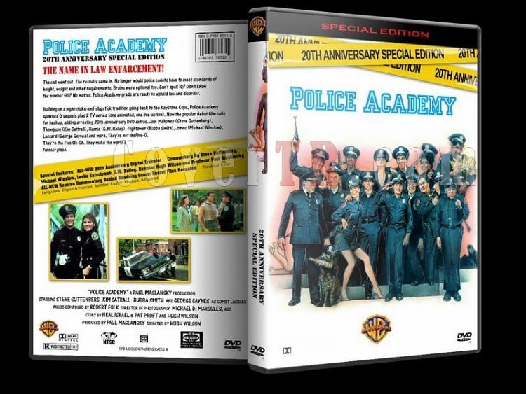 Police Academy  (Polis Akademisi) - Custom Dvd Cover Set - English [1984-1994]-polis-akademisi-1-dvd-coverjpg
