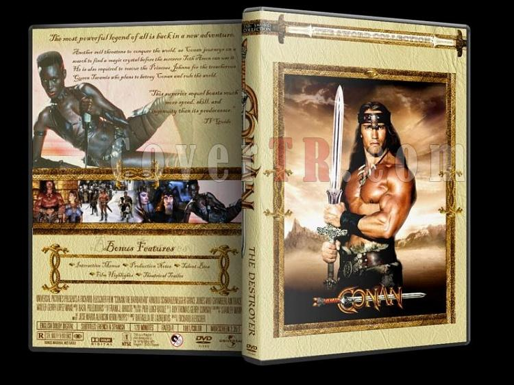 Conan - Custom Dvd Cover Set - English-conan-destroyerjpg