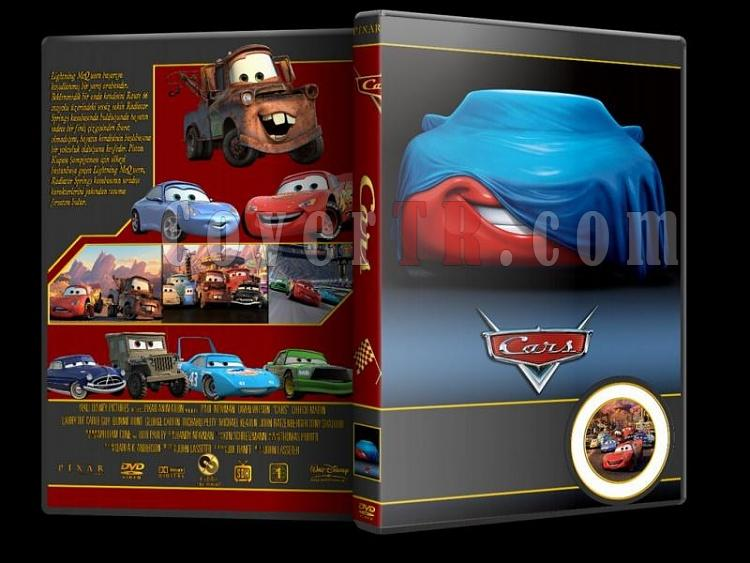 Cars - Custom Dvd Cover Set - Türkçe [2006-2011]-carsjpg