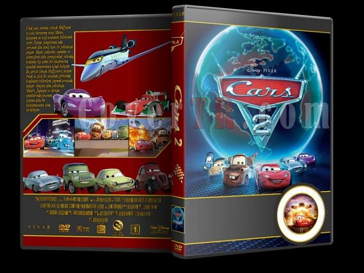 Cars - Custom Dvd Cover Set - Türkçe [2006-2011]-cars-2jpg