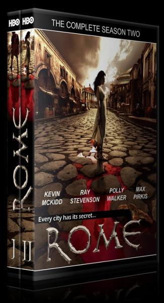 Rome (Seasons 1-2) - Custom Dvd Cover Set - Czech [2005-2007]-romesetjpg