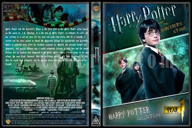 Harry Potter Collection - Custom Dvd Cover Set - English-hp1jpg