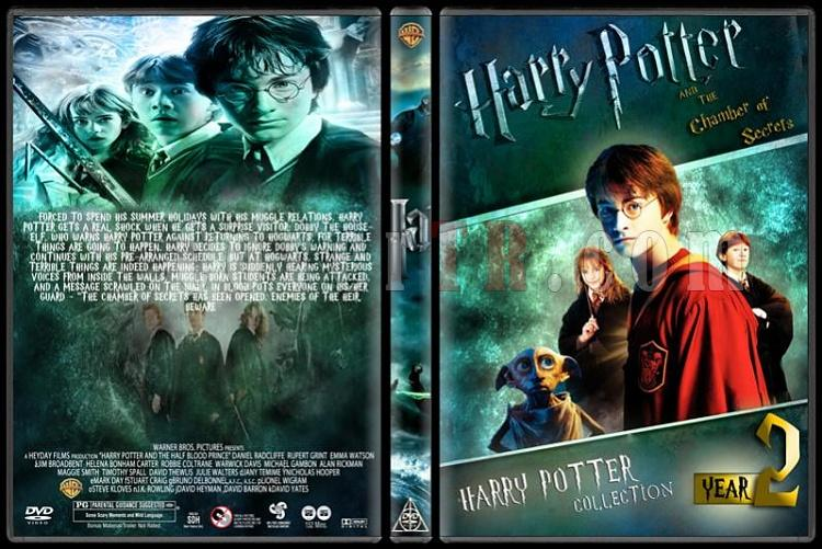Harry Potter Collection - Custom Dvd Cover Set - English-hp2jpg