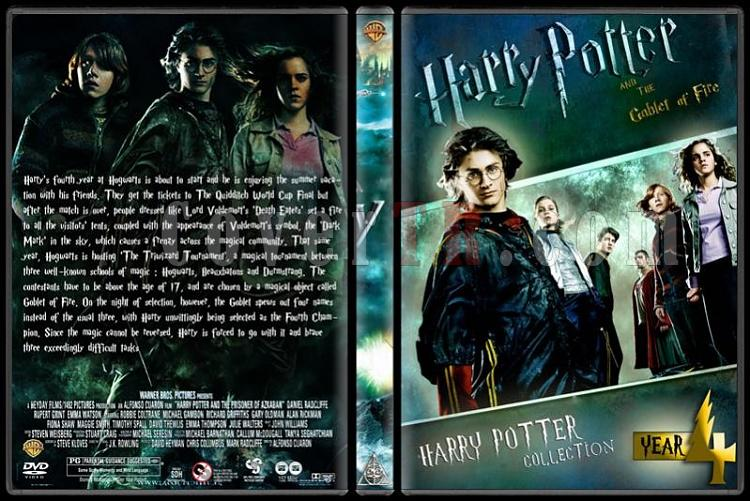 Harry Potter Collection - Custom Dvd Cover Set - English-hp4jpg