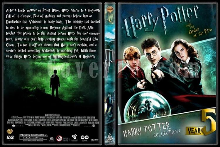 Harry Potter Collection - Custom Dvd Cover Set - English-hp5jpg