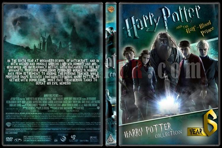 Harry Potter Collection - Custom Dvd Cover Set - English-hp6jpg