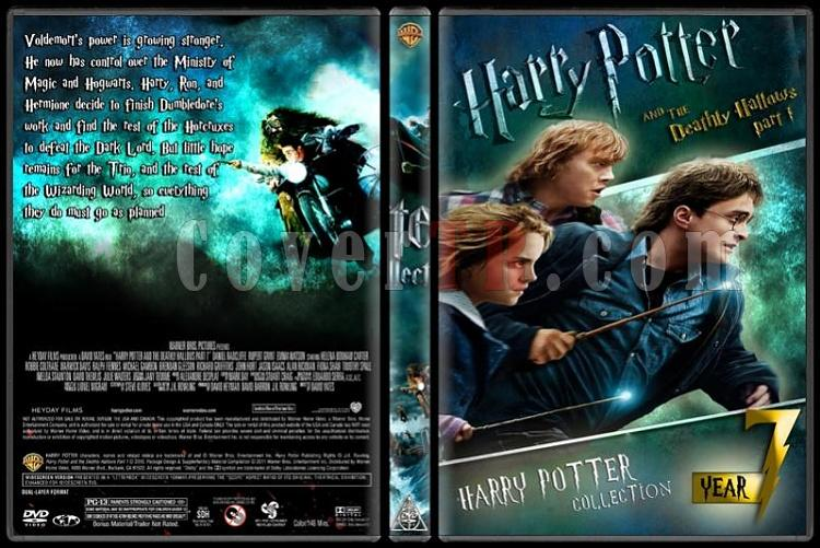 Harry Potter Collection - Custom Dvd Cover Set - English-hp7jpg