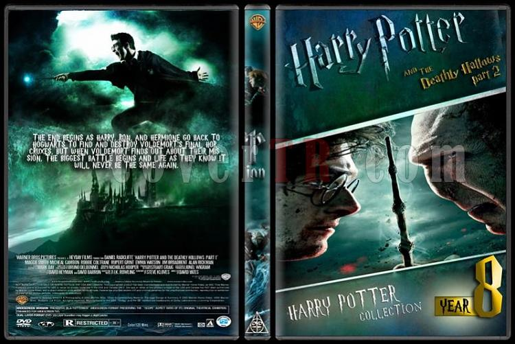 Harry Potter Collection - Custom Dvd Cover Set - English-hp8jpg
