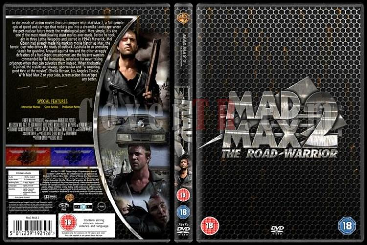 Mad Max (Trilogy) - Custom Dvd Cover Set - English [1979-1985]-01jpg