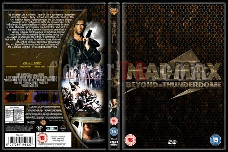 Mad Max (Trilogy) - Custom Dvd Cover Set - English [1979-1985]-02jpg