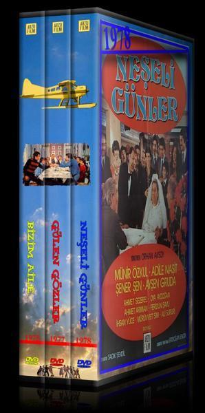 Bizim Aile - Gülen Gözler - Neşeli Günler - Custom Dvd Cover Set - Türkçe-59145jpg